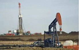 Pump jack in Alberta