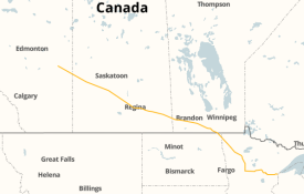 Line 3 pipeline map